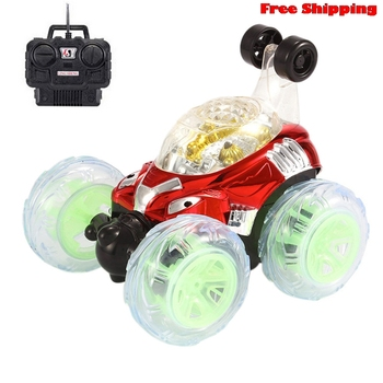 New 360 Degree Spinning And Flips With Color Flash & Music for Kids Remote Control Truck 6 Years Old Or Above More than a toy