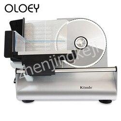 الكهربائية آلة تقطيع اللحوم التلقائي القطاعة قطع ماكينة الخبز انفصال سبائك الفولاذ المقاوم للصدأ سكين 200W قابل للتعديل سمك