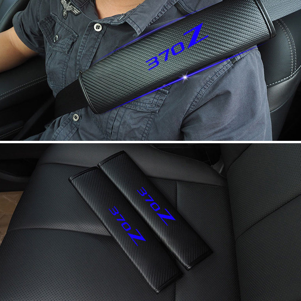 Exra Thick Seatbelt Shoulder Pads Protects Against Rubbing Black