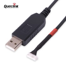 Купить с кэшбэком Queclink GL505 Data Cable Configuration Cable Line For GL500 GL505 GPS Tracker USB To UART Cable Configure Cables