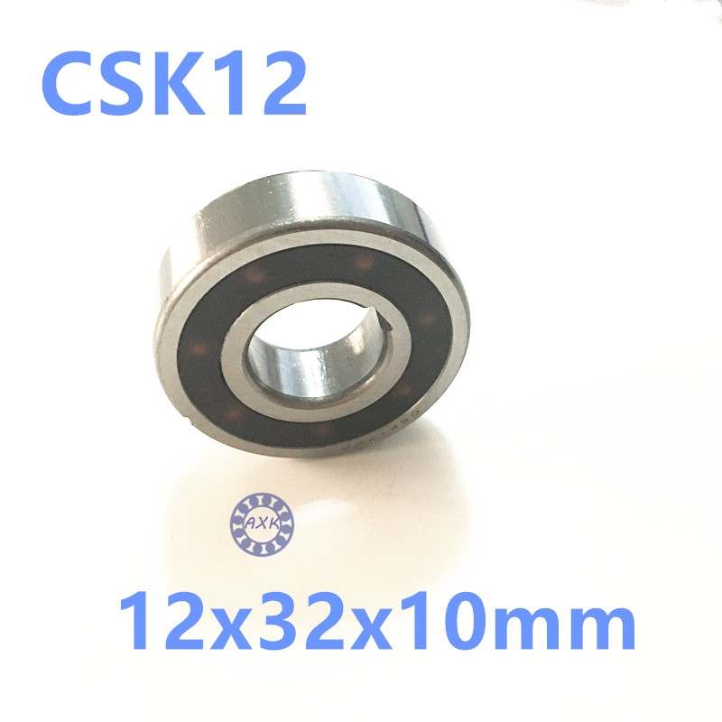 Free shipping 2pcs 6201 CSK12 CSK12PP BB12 one way clutch bearing 12x32x10 printer/Washing machine/printing machinery two groove free shipping big roller reinforced one way bearing starter spraq clutch for polaris ranger rzr1000 xp rzr1000xp 2013 2015