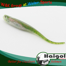 5pcs/bag 9.5cm, supply high quality soft plastic fishing lure soft fishing tackle of bait lure pin tail bait