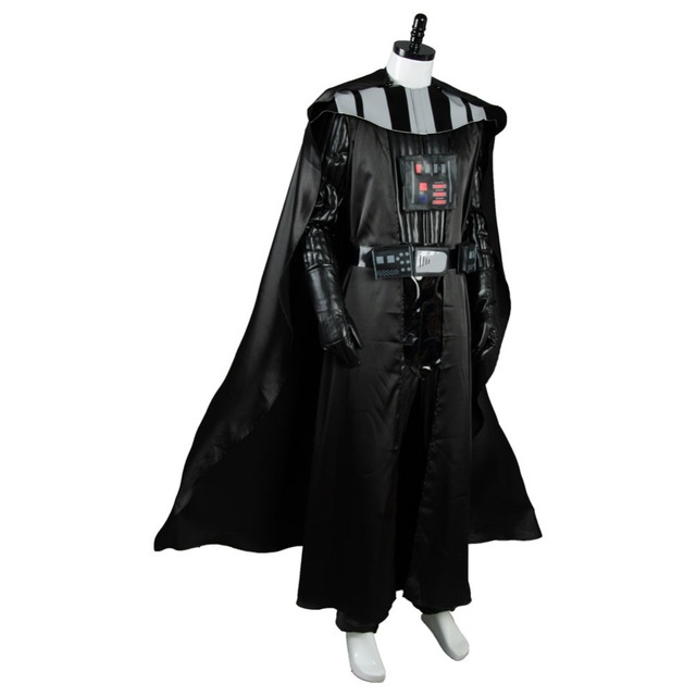 Dark Lord Darth Vader Cosplay Black Uniform STAR WARS