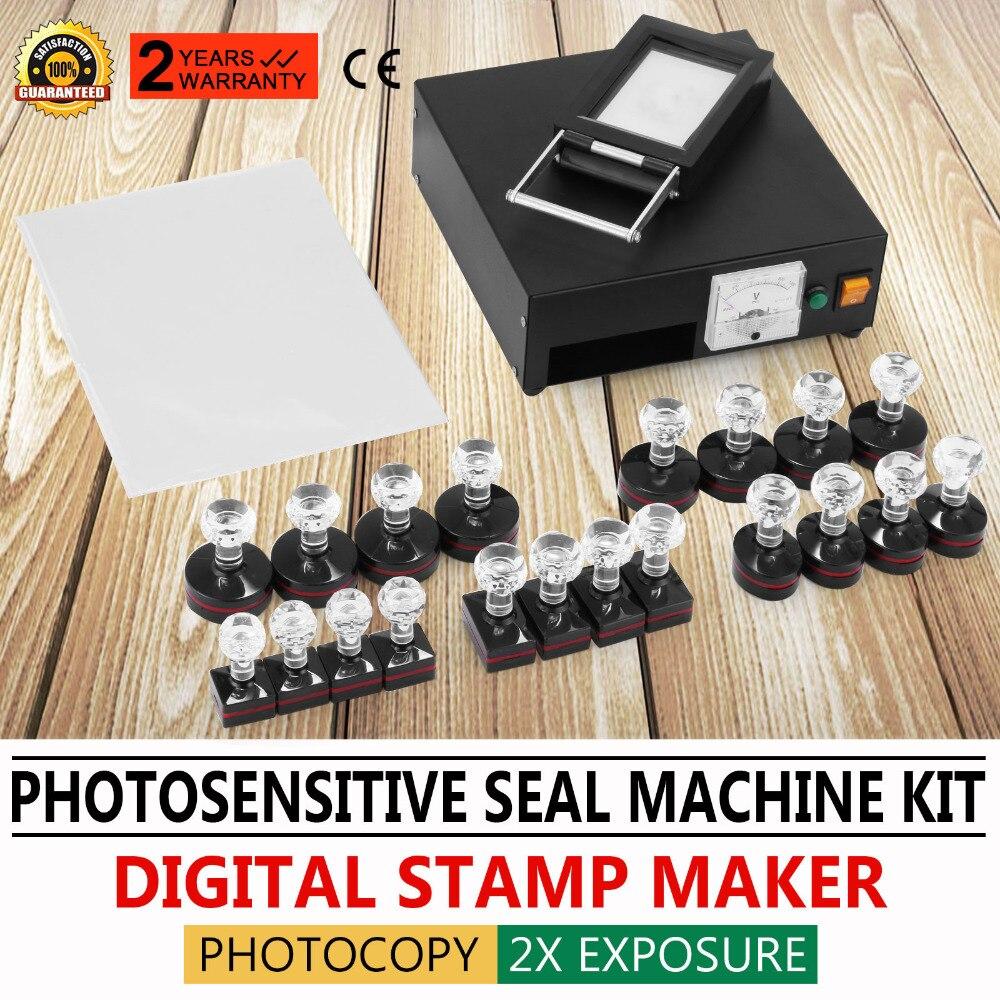 Kit de Machine de timbre Flash photosensible pour Portrait