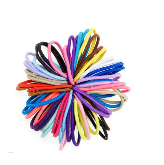 Small Hair Bobbles Elastics Snag Free Endless Girls Bands Ponytail High Quality And Inexpensive Kids' Clothing, Shoes & Accs Clothing, Shoes & Accessories