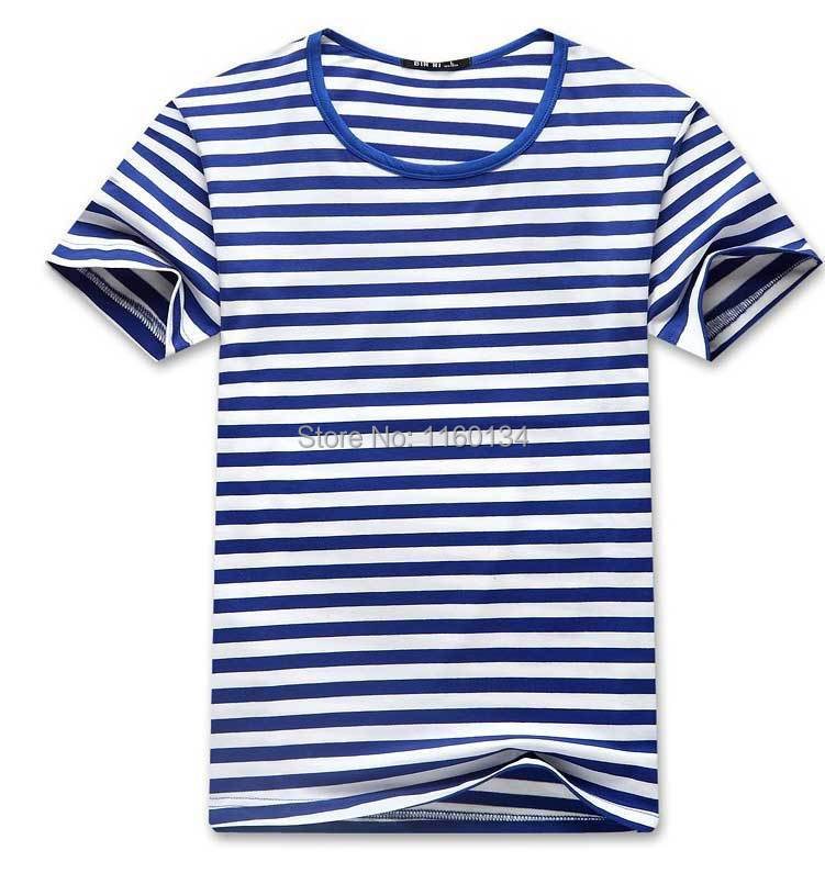 Compare Prices on Blue Stripes T Shirt- Online Shopping/Buy Low ...