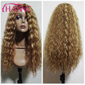 Synthetic Hair Wigs For Woman Mixed #30&22&613 body wave Hair Heat Resistant Medium Length No Lace Wig Body Wave Hair Wigs Sale