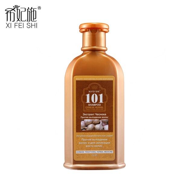 250ML Hair Treatment Adult Age Group Natural Fresh Garlic Shampoo 101 XI FEI SHI Anti-hair Loss and Hair Revitalizing KF029