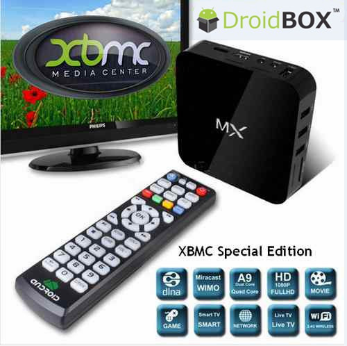 XBMC FULLY LOADED Dual Core Smart Android TV Box XBMC XUNITY