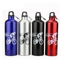 Велосипедная Спортивная бутылка из алюминиевого сплава для горного велосипеда, стакан для воды, 750 мл, оборудование для верховой езды, для путешествий на открытом воздухе, чашка для воды, прочная, A11223