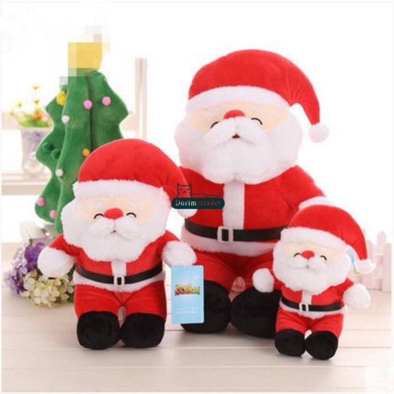 Dorimytrader 80cm Big Plush Soft Cartoon Santa Claus Plush Toy 31