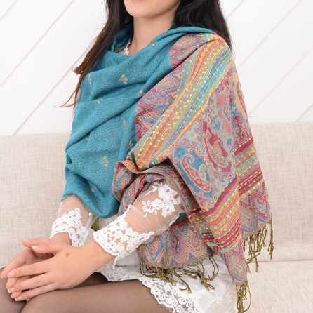 women scarf fashion pashmina  new design long shawl cape silk chiffon tippet muffler echarpes Scarves
