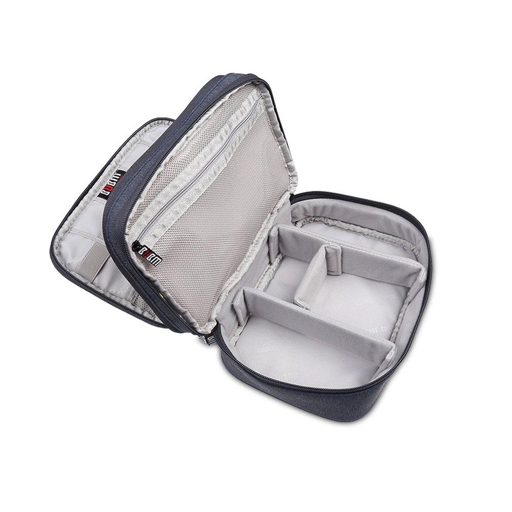 BUBM câble d'alimentation sac de rangement écouteurs câbles sac Portable électronique organisateur accessoires Gadget étui de protection