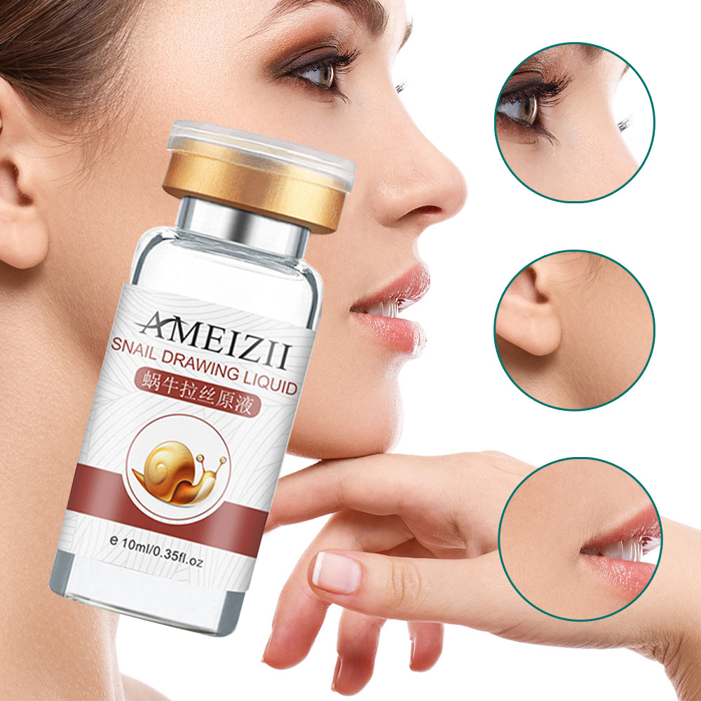 10ml Snail Essence Moisturizing Anti-Aging Whitening Face Care Control Lifting Firming Anti Wrinkle Serum Skin Care Repair TSLM1