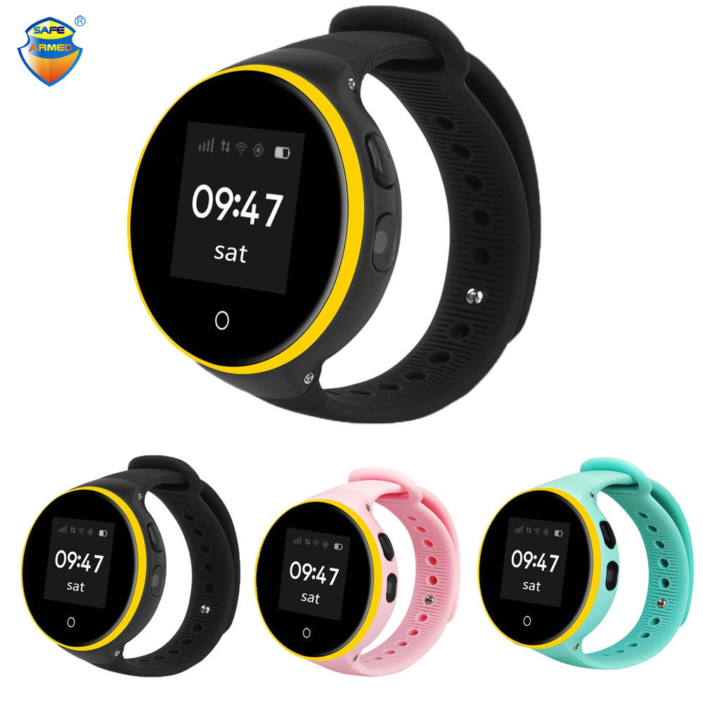 S668A Child Watch SOS LBS+ GPS+Wifi Positioning Tracker Kid Safe Anti-Lost Monitor Smart GPS Watch PK Q90 V7K Baby Watch