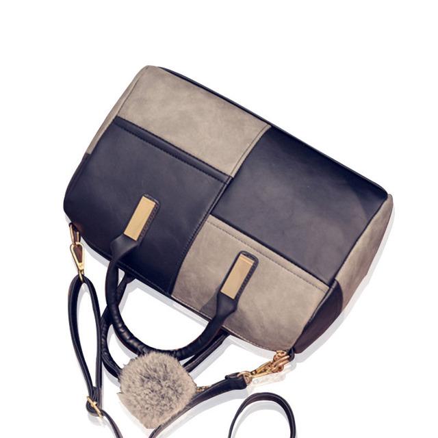 HJPHOEBAG Fashion patchwork pillow handbags hot sale women evening clutch ladies party purse famous brand shoulde bags Z-458