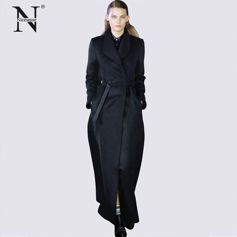 a51e381903e5 Casaco de inverno mulheres sobretudo Nicesense poncho abrigos mujer  invierno 2017 manteau femme feminino casaco casaco