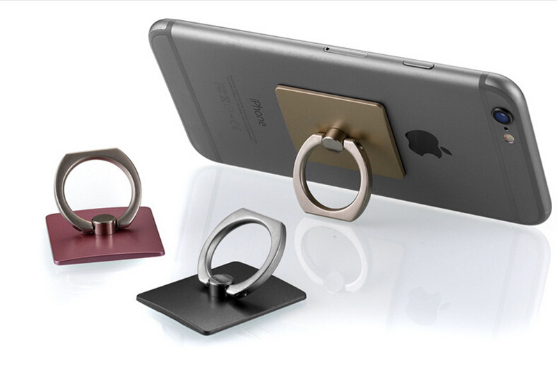 Hot Sale Holder For Mobile Phones iPhone Samsung LG Huawei Finger Grip with Free Hook for Car Using Phone Stand Ring Holder