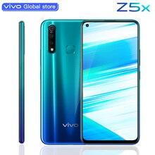 Vivo Z5x 6,53 дюймов 4 Гб 64 Гб мобильный телефон Восьмиядерный Snapdragon 710 16MP двойная камера 5000 мА батарея мобильного телефона