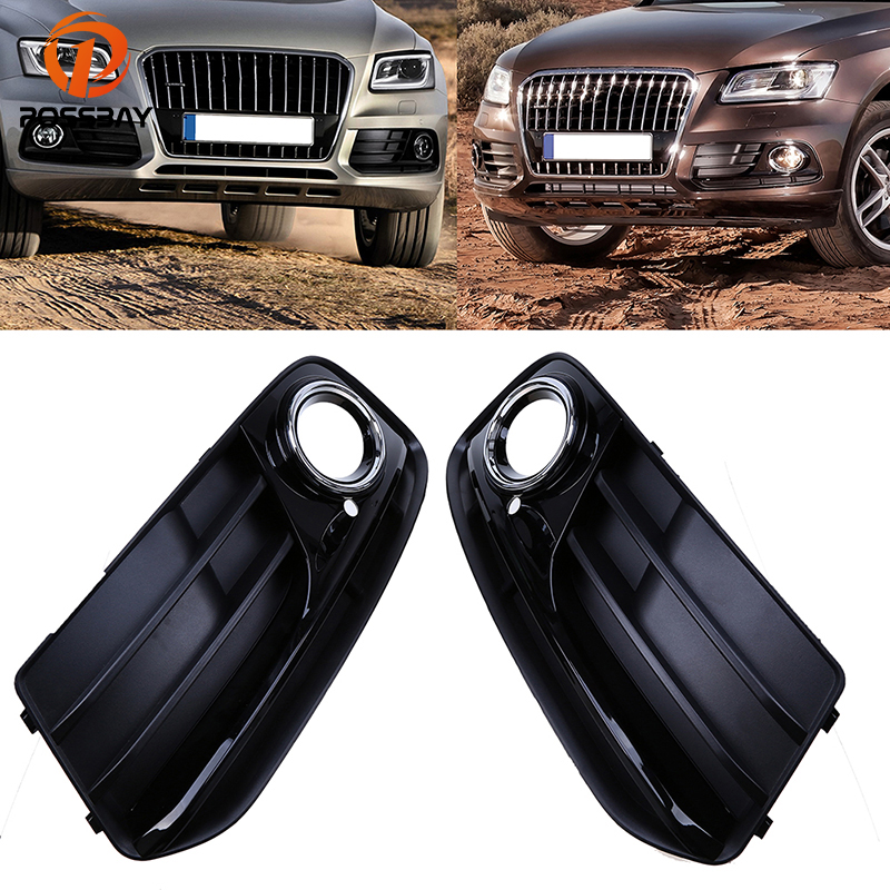 POSSBAY Left Right Side Car Front Lower Racing Grill Grille for Audi Q5 8R MK1 2012
