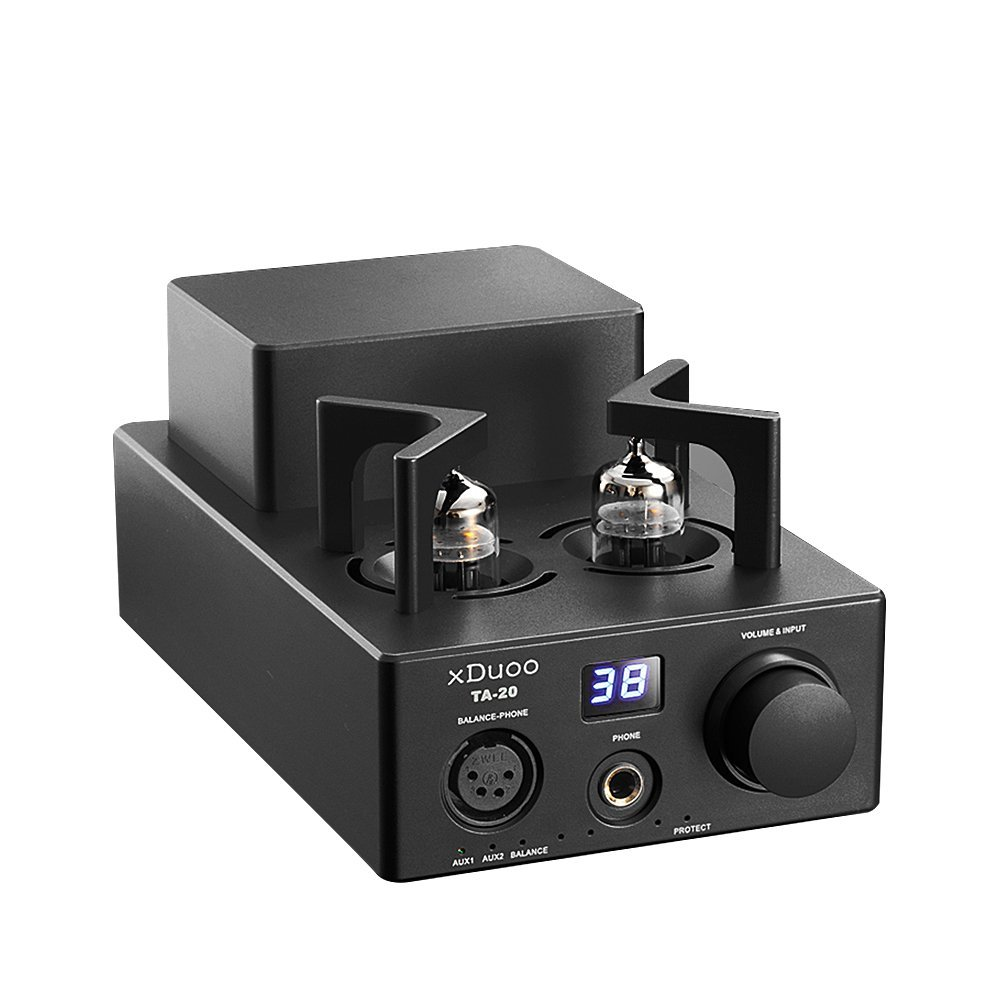 XDUOO TA-20 High Performance Balanced Tube Headphone Amplifier Power Amplifier 12AU7 HIFI AUDIO AMP (Black) original xduoo ta 20 high performance balanced tube headphone amplifier power amplifier