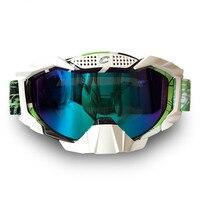 Marke Motocross Goggles Snowboard FUCHS Motorrad-schutzbrille ATV Racing Motorrad Off Road Helm Sonnenbrille Motorrad Gläser