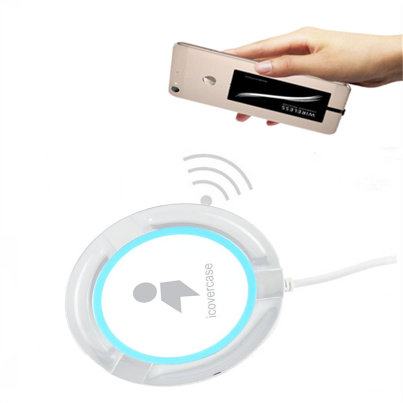 Wireless Charger For Huawei Honor 6C Pro Qi Wireless Charger Pad Phone Accessory For Honor 6C Micro Receiver Silicon Cover Case