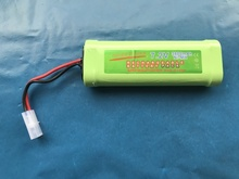 3800mAh 7.2v NiMh GTL Toy Battery Flat Racing car replacement battery for RC Airplane Helicopter Boat ,With Tamiya Connectors nvision 7 2в 4200мач nimh силовой разъем tamiya