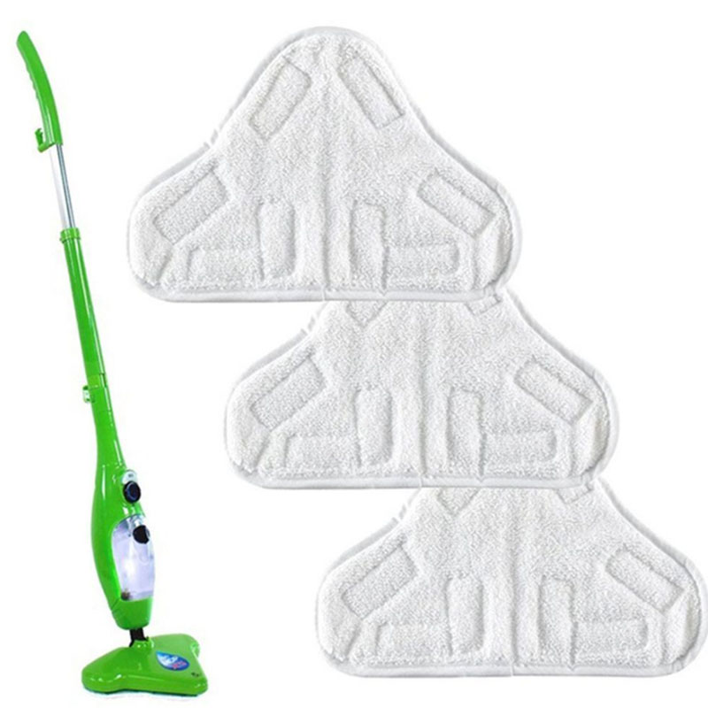 1pc H2O X5 Model Steam Mop Replacement Pad Mop Clean Washable Cloth Microfiber WASHABLE Mop Head In Mop Reusable Cloth 25*18 CM(China)
