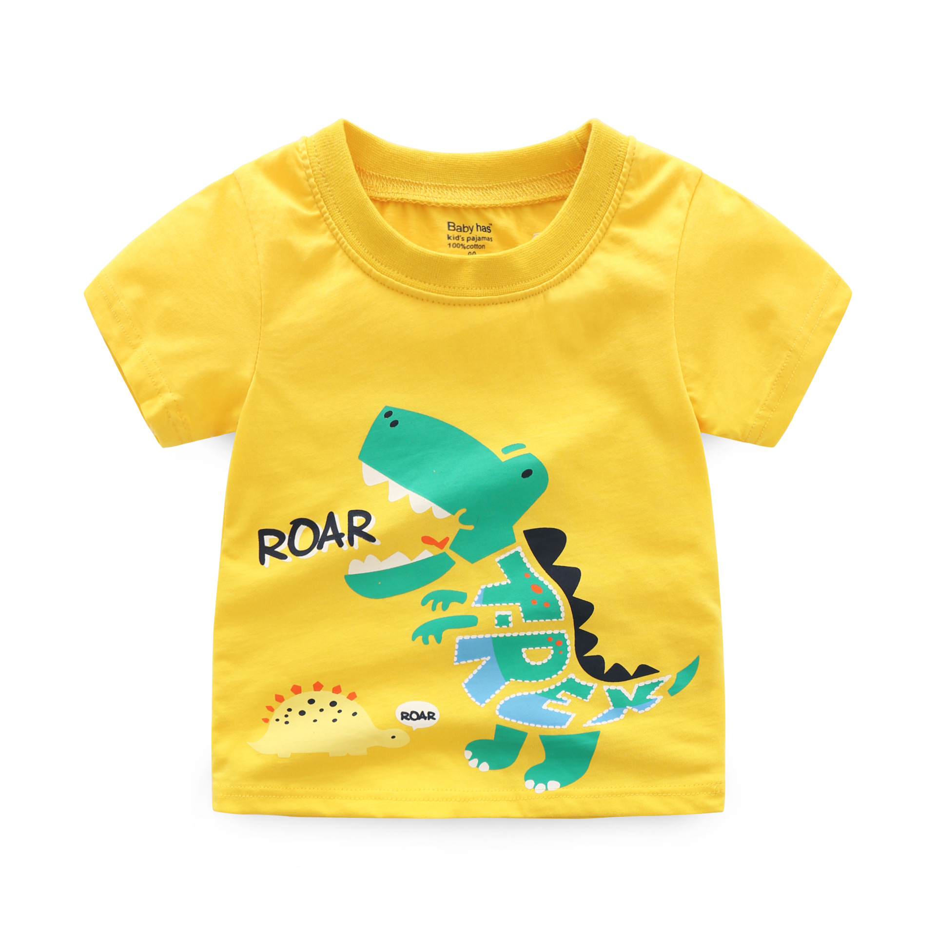 44953e8b0105c Cartoon Print Short Sleeve T shirt Toddler Kids Clothes Baby Boy Outfits  Tops+Shorts Pants Set 2018 New Summer Children Clothing-in Clothing Sets  from ...