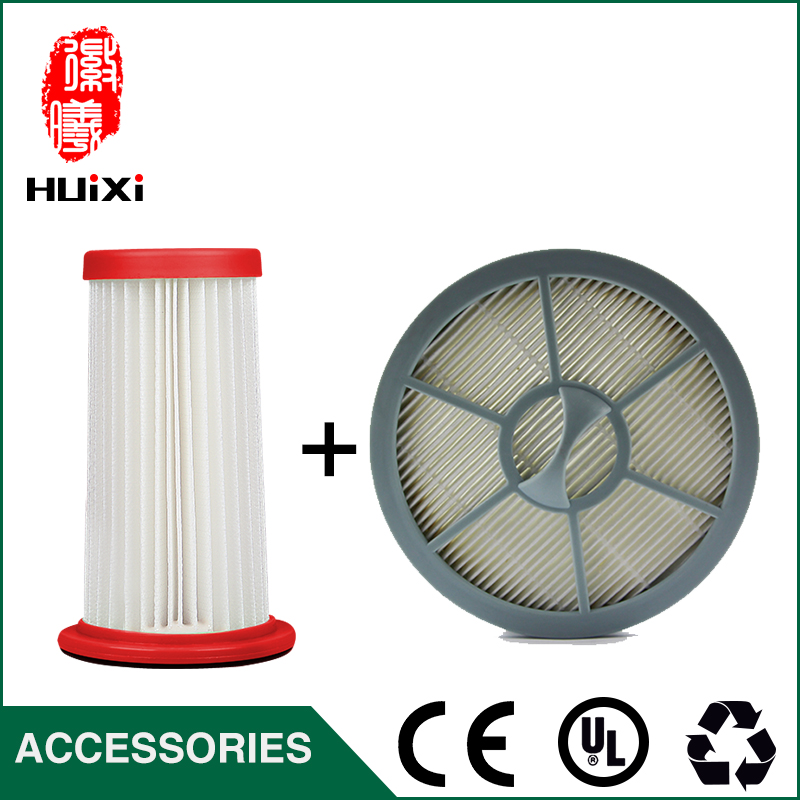 2pcs hepa filter and filter element  with made in china Vacuum Cleaner Parts for FC8250 FC82etc.