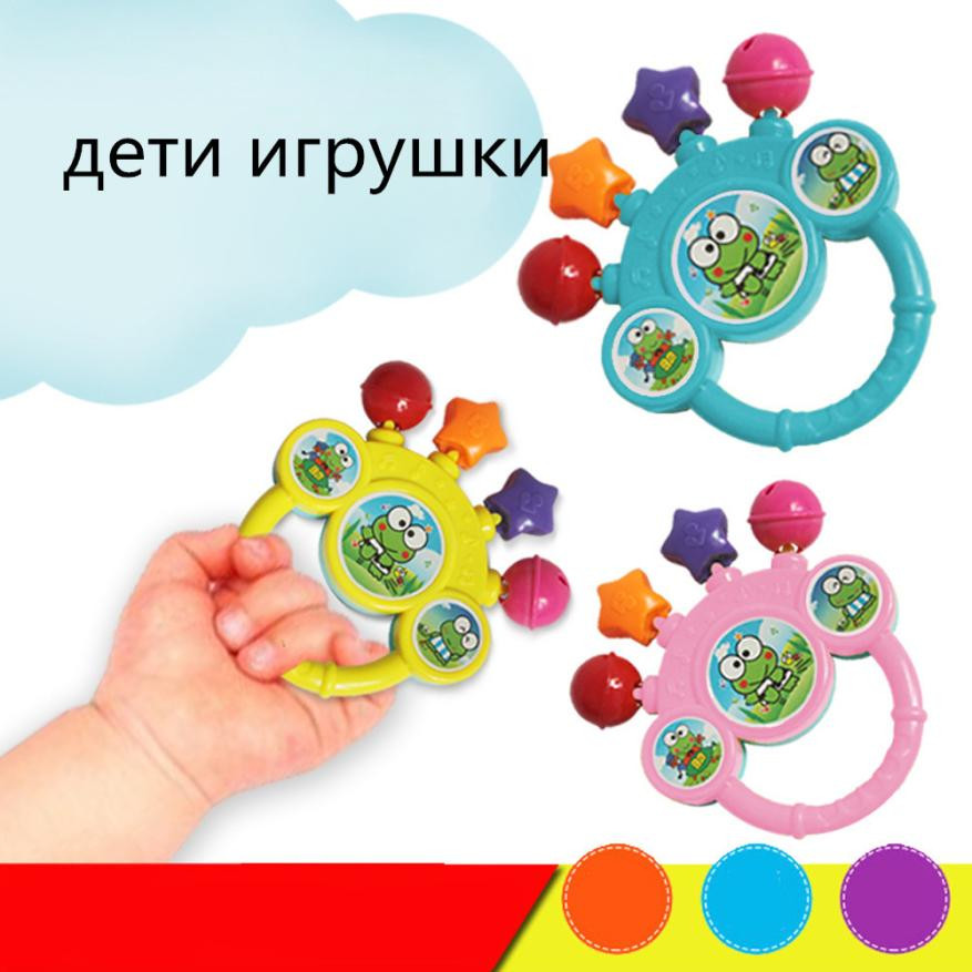 2018 Baby Bell Toy Hand On The Toy Baby Birthday Gift Stress Relief Toy Funny Kids Gift 20