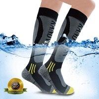 Waterproof Socks [SGS Certified] Men Women Knee High Outdoor Sport Cycling Climbing Hiking Skiing Trekking breathable Socks