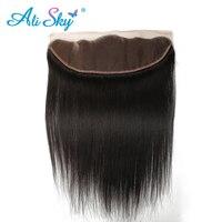 Virgin Indian Silk Straight Ear To Ear Lace Frontal Closure 13 4 100 Human Hair 8