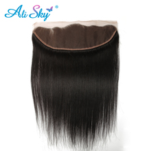 Indian Straight Ear To Ear Lace Frontal Closure 13 4 100 Human Hair 8 20