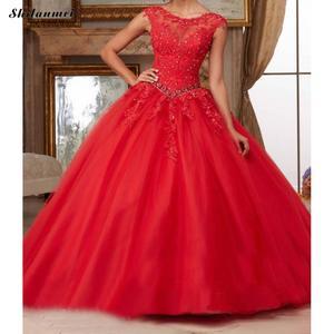 Image 4 - תחרה ארוך ערב המפלגה שמלה יפה עיצוב גדול מטוטלת סוג נשים שמלות בתוספת גודל Xxxl Skyblue ורוד קצר שרוול שמלות