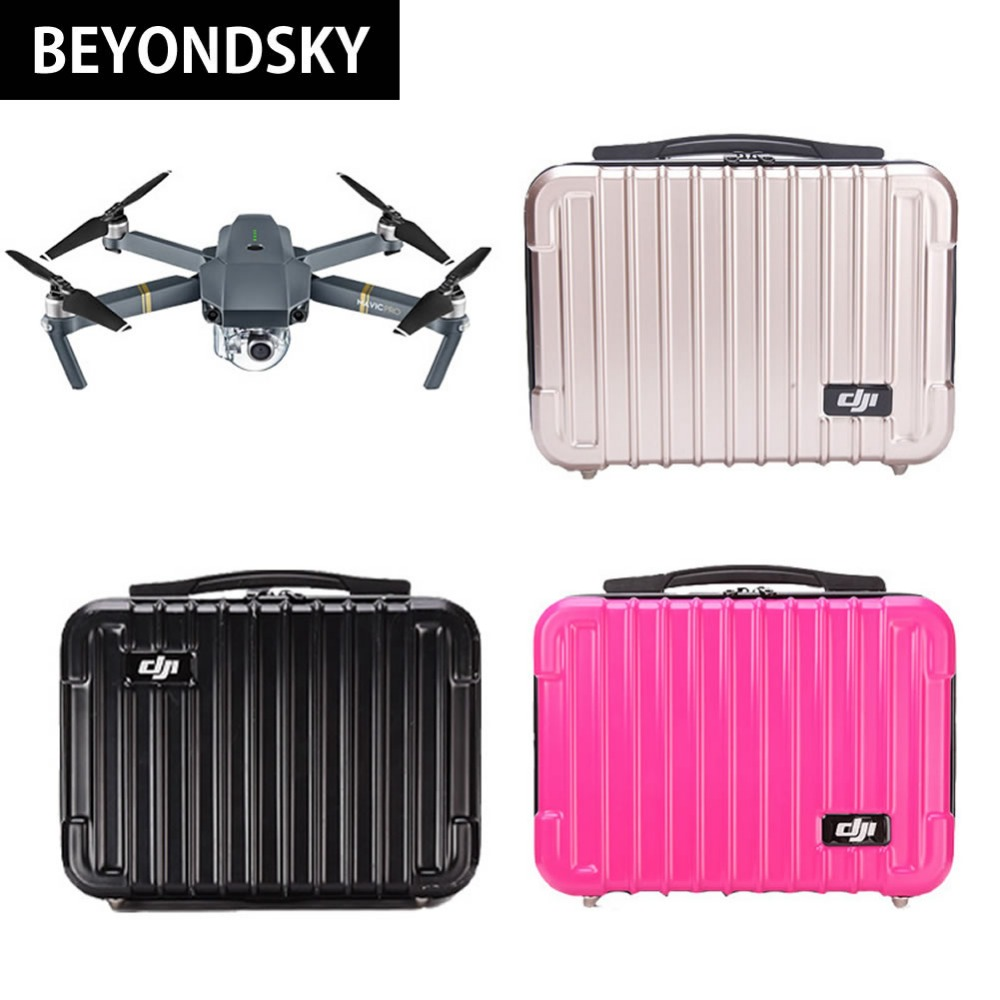 DJI Mavic Pro Portable Suitcase PC Hard Shell Case Tool Storage Box High Quality Waterproof Box Standard Accessories Quadcopter
