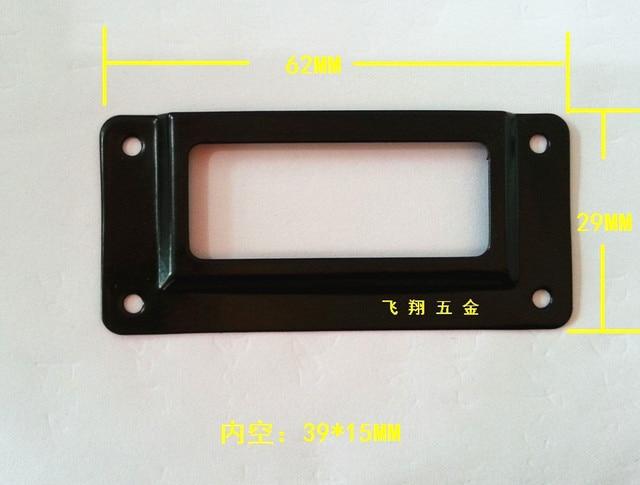62 29mm black label box drawer handle metal business card holder 62 29mm black label box drawer handle metal business card holder gift card inserted decorative colourmoves