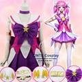 Anime LOL A Senhora Da Luminosidade Lux Trajes Cosplay Sailor Moon/Puella Magi Madoka Magica Fantasia Trajes Vestido