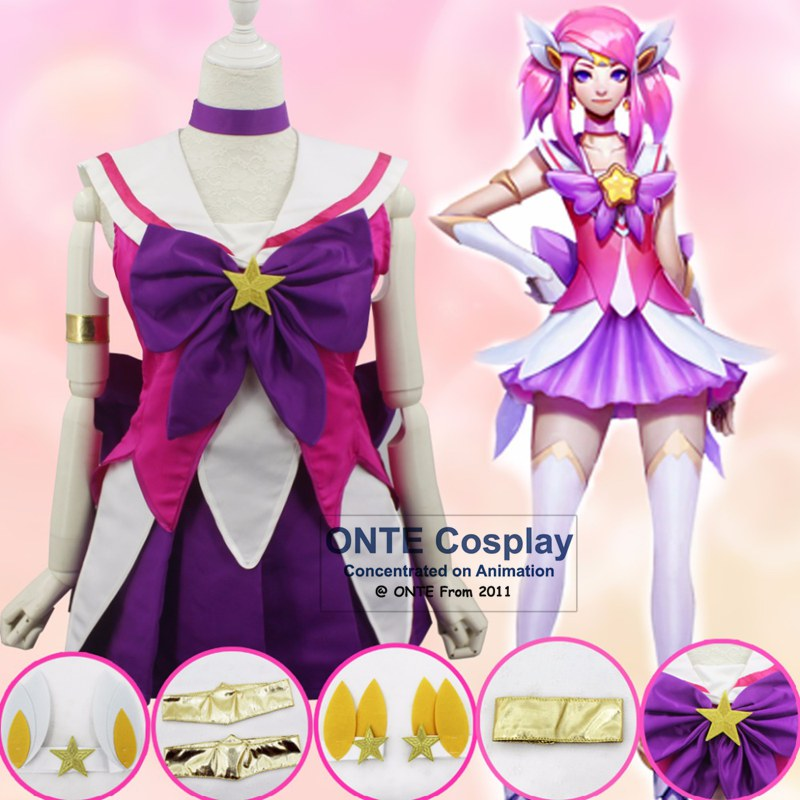 Fashion Games The Lady Of Luminosity Lux Cosplay Costumes