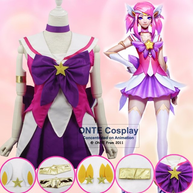 Fashion Games The Lady Of Luminosity Lux Cosplay Costumes Sailor Moon / Puella Magi Madoka Magica Fancy Outfits Dress