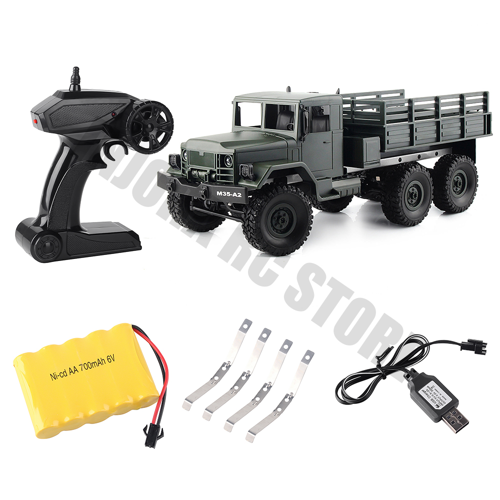 2.4G 6WD 1/16 Scale MN77 RC Crawler Car Remote Control Truck Toys RTR Version Army Military Off-road Truck 2.4G 6WD 1/16 Scale MN77 RC Crawler Car Remote Control Truck Toys RTR Version Army Military Off-road Truck