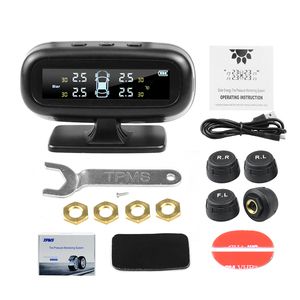 Image 5 - 자동차에 대 한 보편적으로 태양 tpms 자동차 타이어 압력 알람 모니터 시스템 표시 온도 경고 연료 4 센서와 저장
