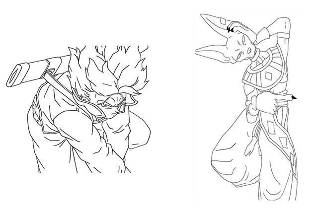 R1005 10 De Descontodragon Ball Goku Super Capítulo Final Ultra Instinto Jiren Frieza Edição Comemorativa Desenho Pintura Presente Da Criança
