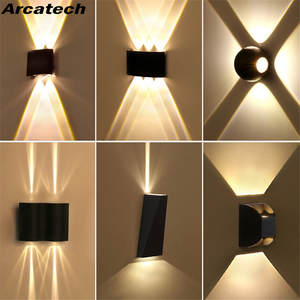 Wall-Lamp IP65 Aluminum Outdoor Waterproof Modern LED Decor-Up Down-Dual-Head NR-137