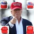 Fazer a América Grande Cap Chapéu Novamente Donald Trump 2016 GOP republicano Ajustar Boné de Beisebol Malha Chapéu patriotas Trump Para presidente chapéu