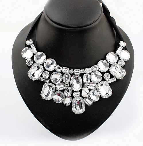 F&U Jewelry Choker Վզնոց տերև Ակրիլային - Նորաձև զարդեր - Լուսանկար 2