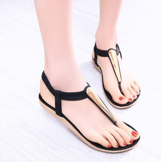 7c8a41c5295 2015 nuevos zapatos del verano mujer sandalias mujer sandalia para mujeres  pisos flip flops cuñas sandalia