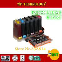 CISS suit for Canon PGI425 CLI426 pgi 425 cli 426 for Canon MG8140 ciss MG6140 ciss , 6 color ,full ink , with ARC chip