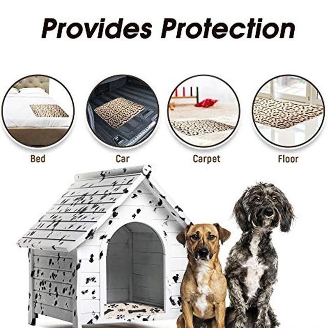 Dropshipping Waterproof Reusable Dog Bed Mats Dog Urine Pad Puppy  6